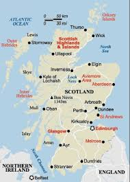 map of scotland and maps of scotland the munros and the capital city of edinburgh