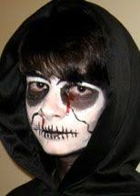 make up tutorial great for s and s go as the grim reaper quick and easy