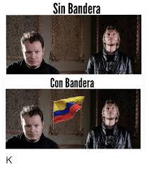 Banderas Meme - sin bandera con bandera k meme on me me