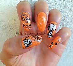 nails by ms lizard halloween nail art ideas