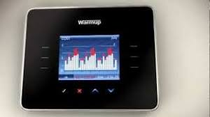 3ie energy monitor thermostat for underfloor heating by warmup