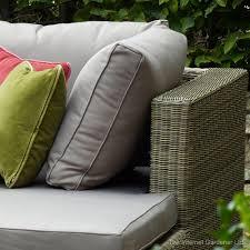 Rattan Curved Sofa by Bramblecrest Sahara Curved Rattan Corner Sofa Internet Gardener