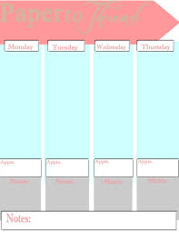 paper to thread free printable planner pages