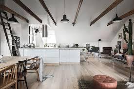 kitchen horizontal curtain range hood wooden bar stool hanging