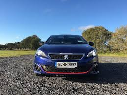 peugeot 308 touring fleetcar ie reviewed peugeot 308 gti fleetcar ie