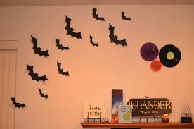 wall halloween decorations made by enginerds diy halloween paper wheels and bats