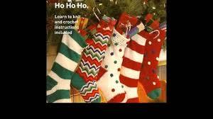 easy crochet christmas stocking for beginners youtube