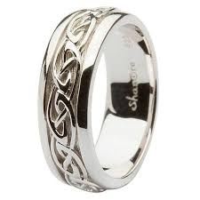 celtic wedding rings silver celtic knot wedding ring