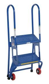 Fold Up Step Ladder by Vestil Portable Folding Step Ladders