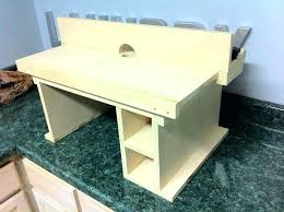 Kreg Jig Table Top Diy Router Table Top U2013 Thelt Co