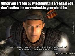 Arrow Meme - i used to be an adventurer like you but then i took an arrow to