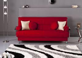 Luxury Living Room Interior Design Ideas With Red Sofa Furniture - Red sofa design ideas