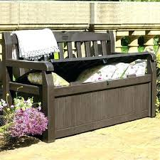 patio cushion storage outdoor furniture with storage outdoor