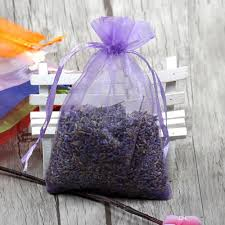 purple gift bags empty drawstring organza sachets wedding gift bags pouches