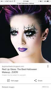 Purple Halloween Eye Makeup by 271 Best Halloween Makeup Images On Pinterest Halloween Make Up