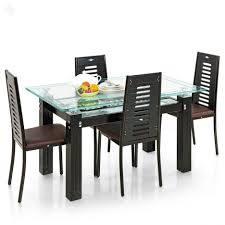 Small Glass Dining Table And 4 Chairs Dining Tables Fabulous Inch Round Piece Of Glass For Dining