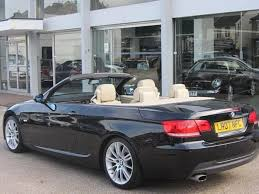 bmw 320i 2007 for sale used bmw 3 series 2007 black paint petrol 320i m sport convertible