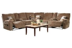 Chenille Reclining Sofa by Ranger 7 Piece Chenille Power Reclining Sectional
