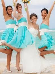 malibu bridesmaid dresses malibu blue bridesmaid dresses tbdress