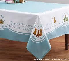 Peter Rabbit Pottery Barn Barn Kids Peter Rabbit Tablecloth 70x90 Beatrix Potter U0027s Classic Nwt