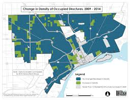 Dte Map Data Driven Detroit City Of Change U2013 Occupancy Density In
