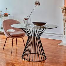 hourglass dining table west elm au