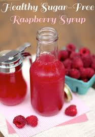 healthy sugar free raspberry syrup recipe desserts with benefits
