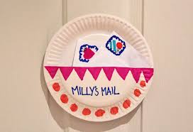 mailbox craft paper plate mailboxes my kid craft