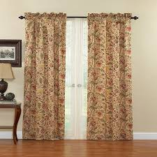Waverly Curtain Panels Waverly Imperial Dress Antique Curtain Panel Walmart
