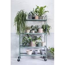 mid century standing planter wayfair