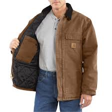 carhartt arctic work coat for tall men