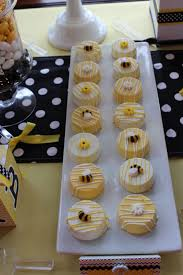 bumblebee themed baby shower u201cmommy to bee u201d dessert candy table
