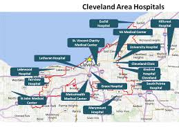 map of cleveland clinic city of cleveland economic development healthcare