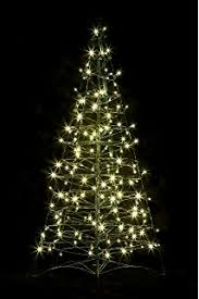 4 foot white christmas tree with colored lights amazon com crab pot trees 5 ft indoor outdoor pre lit led