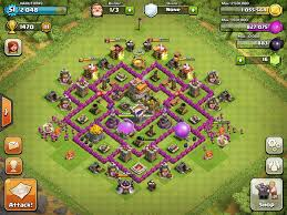 layout coc town hall level 7 top clash of clans defense strategy town hall level 7 phoneresolve