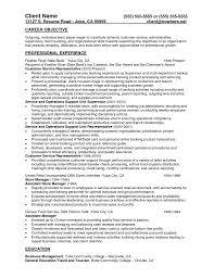 personal banker resume personal banker resume samples templates