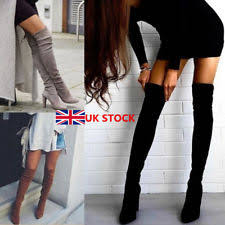 s thigh boots uk s clubwear knee boots ebay