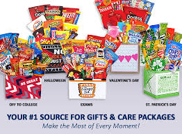 college gift baskets care packages student college exams healthy get well