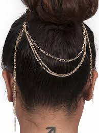 hair chains 35 best chain gold soul la images on hair