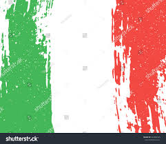 Italy Flag Images Vector Grunge Background Flag Italy Italian Stock Vector 443909185