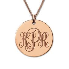monogram necklace pendant freeshipping monogrammed necklace personalized initials monogram
