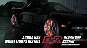 Acura Nsx Black Oracle Lighting Wheel Light Install 1991 Acura Nsx Black Top