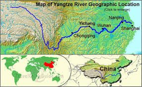 rivers in china map yangtze river maps location cruise and three gorges dam