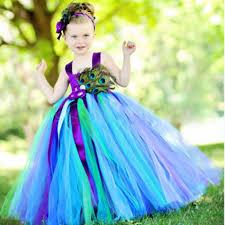 Peacock Halloween Costumes Girls Cheap Halloween Costumes Flower Aliexpress