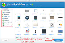 how to retrieve deleted on android how to recover deleted files from galaxy note 5 4 3 on mac