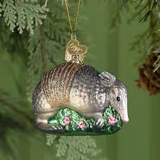armadillo ornament rainforest islands ferry