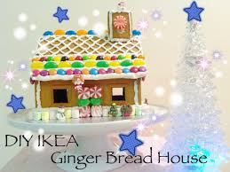 diy ikea ginger bread house youtube