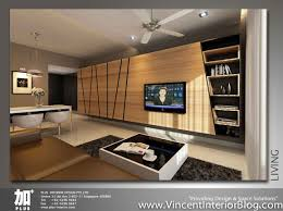 living room feature wall design singapore