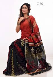 bangladeshi sharee soft half silk tangail saree c 301