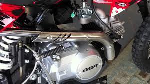 110cc ssr dirt bike pit motorcycle kick start problem youtube